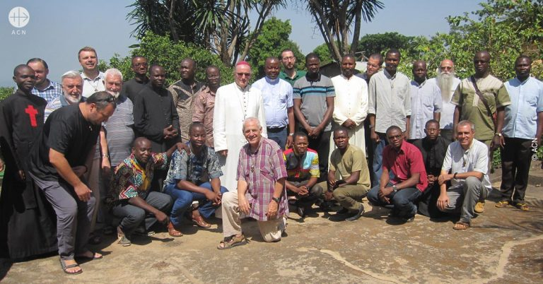 Central African Republic: Thank you for supporting an ongoing formation session for priests in the diocese of Bouar